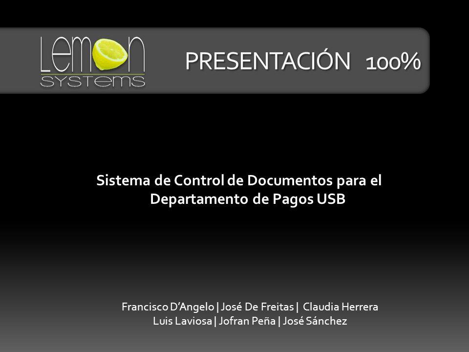 Sistema de Control de Documentos para el Departamento de Pagos USB