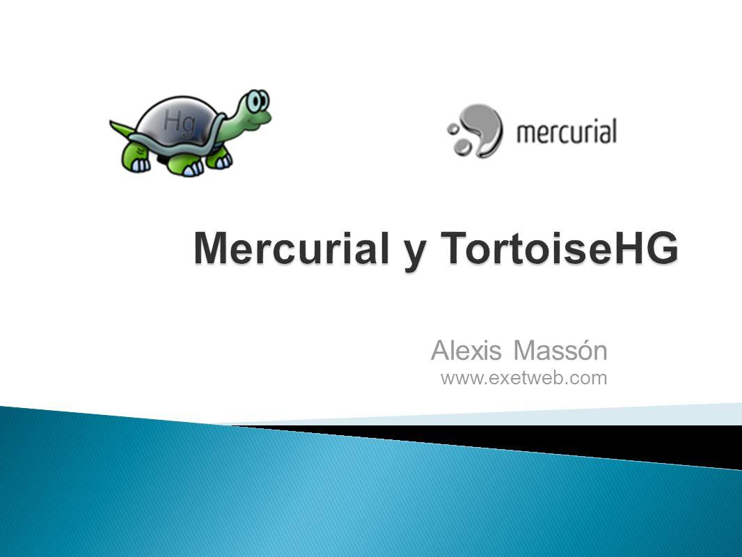 Mercurial y TortoiseHG