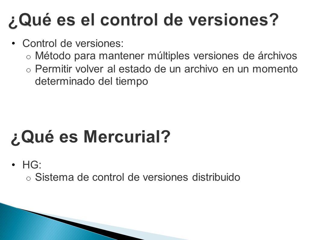 ¿Qué es el control de versiones