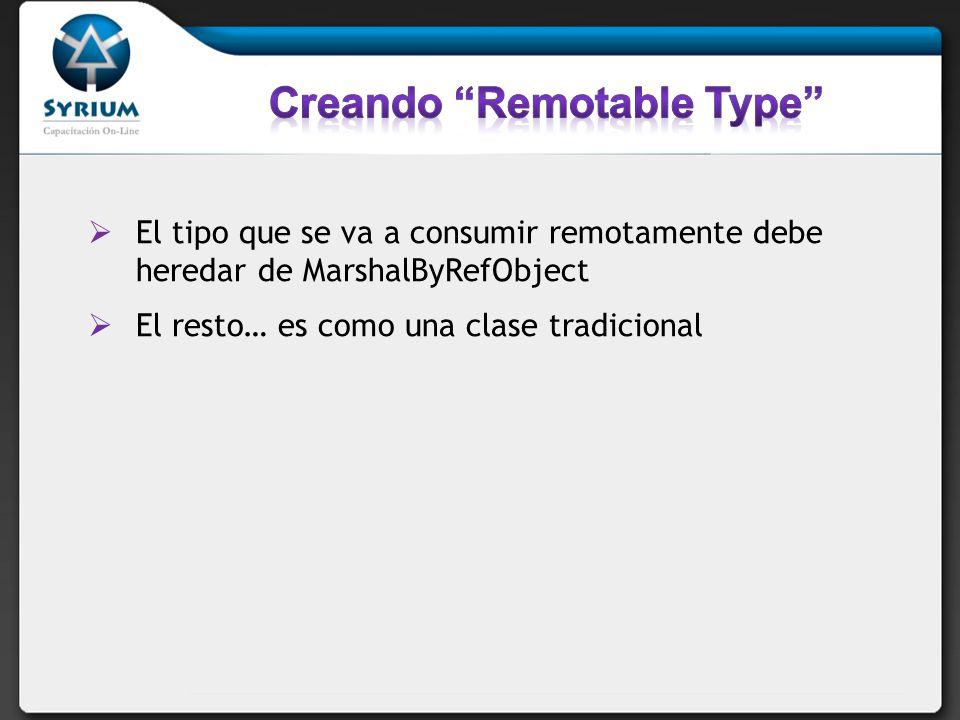 Creando Remotable Type