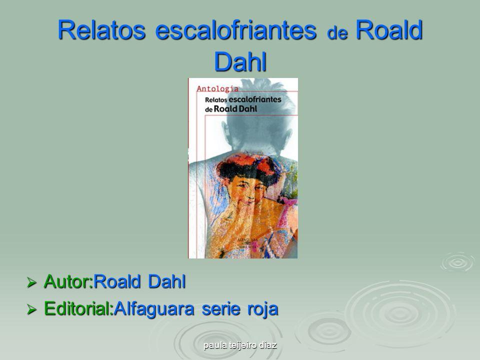 Relatos escalofriantes de Roald Dahl