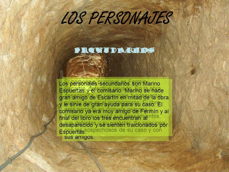 LOS PERSONAJES SECUNDARIOS PRINCIPALES