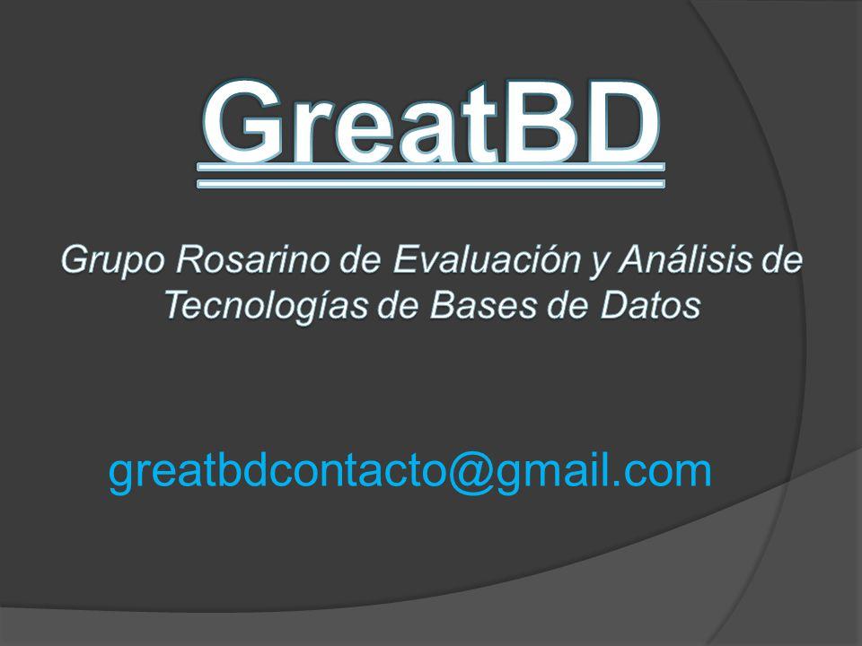 GreatBD greatbdcontacto@gmail.com
