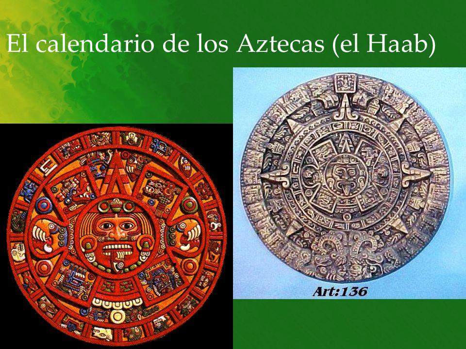 El calendario de los Aztecas (el Haab)