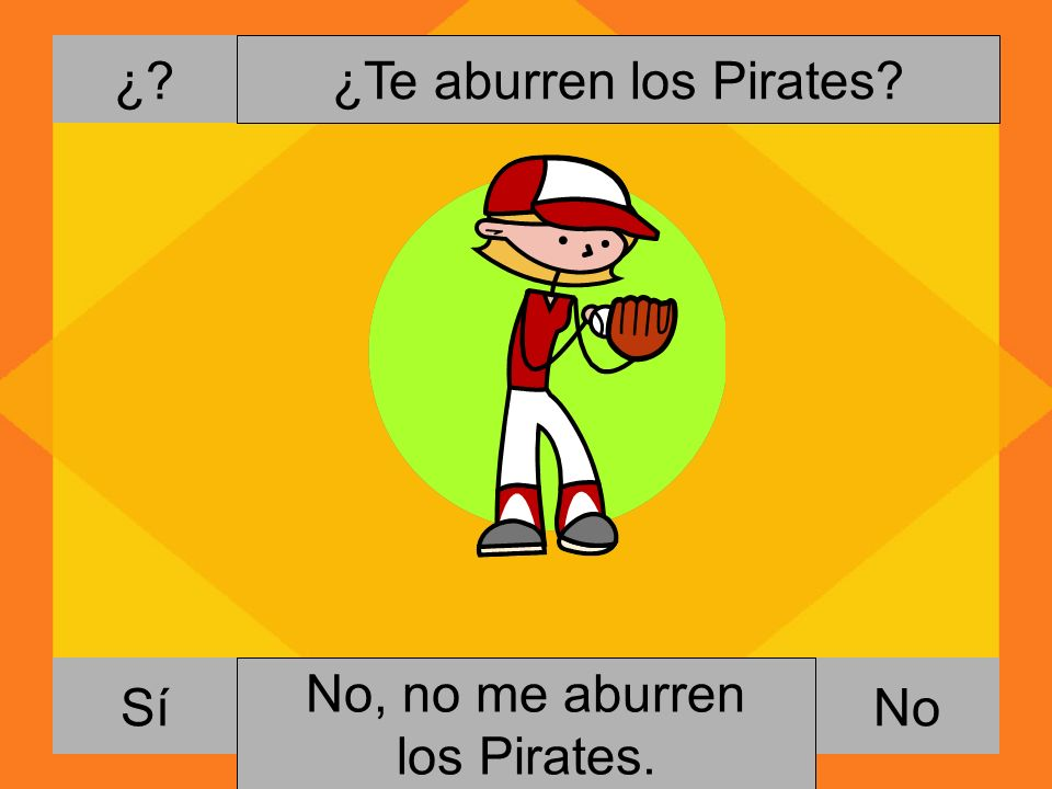 ¿Te aburren los Pirates