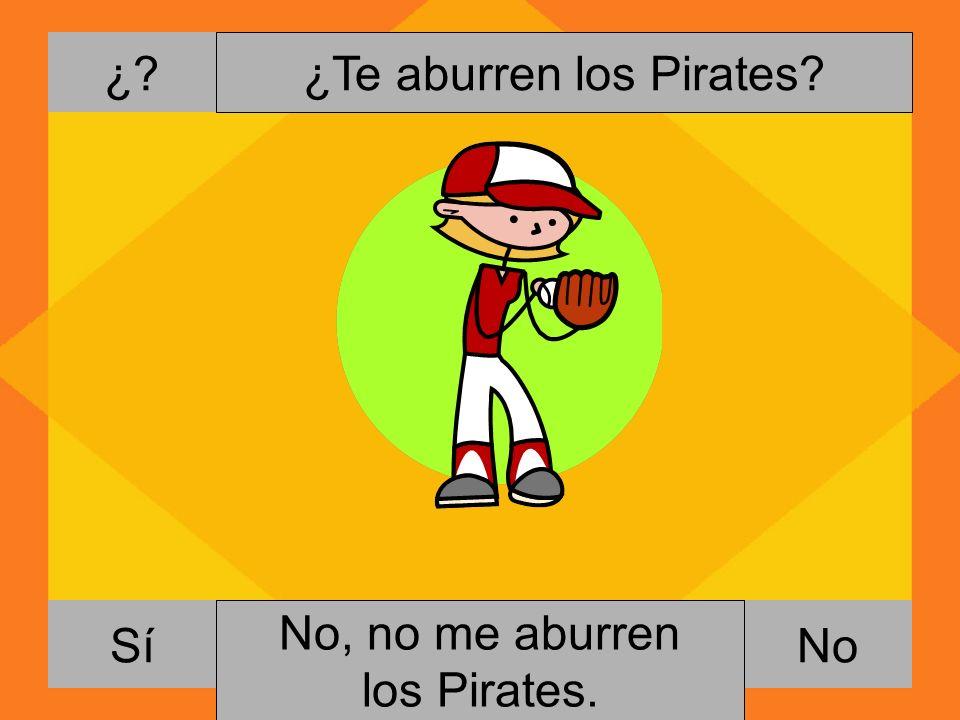 ¿Te aburren los Pirates