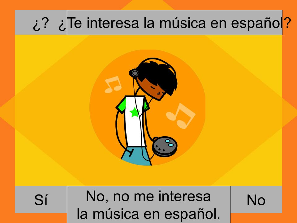 ¿Te interesa la música en español