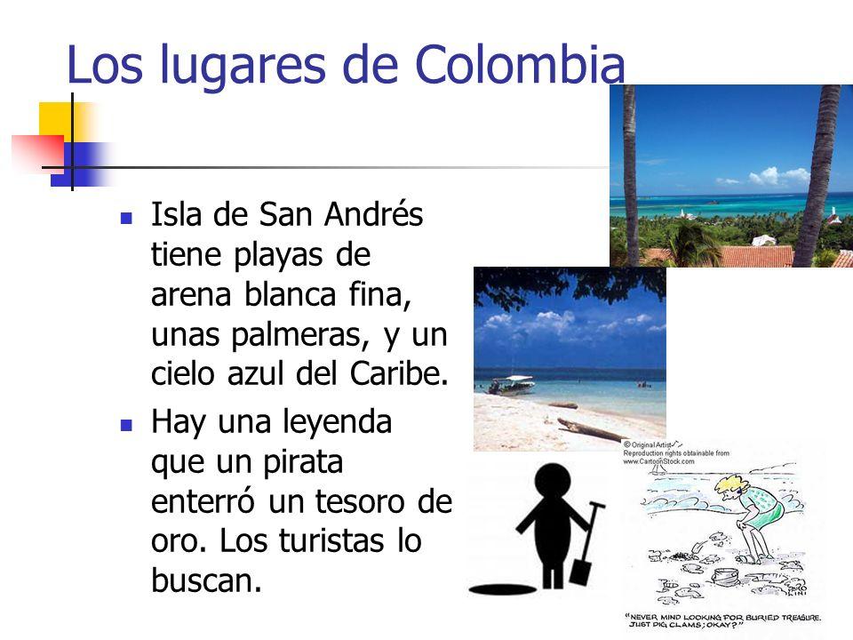 Los lugares de Colombia