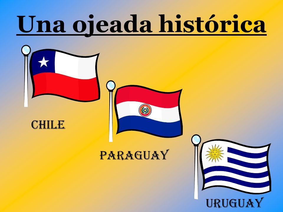 Una ojeada histórica CHILE Paraguay uruguay
