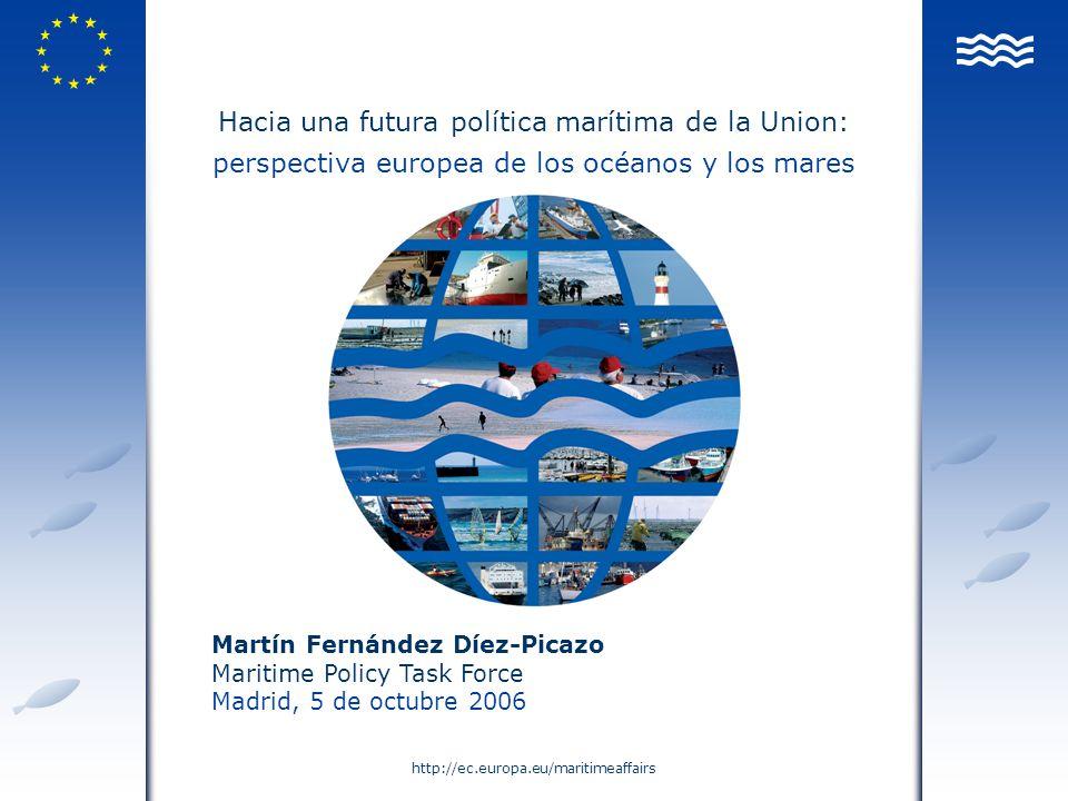 Hacia una futura política marítima de la Union: