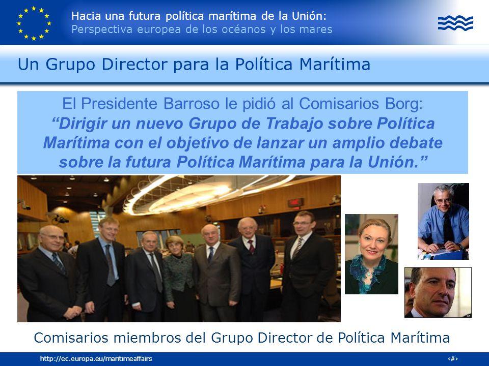 Un Grupo Director para la Política Marítima