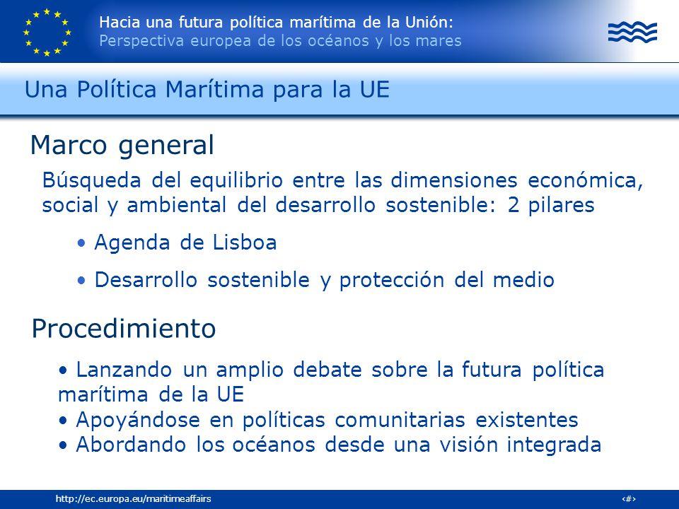 Una Política Marítima para la UE