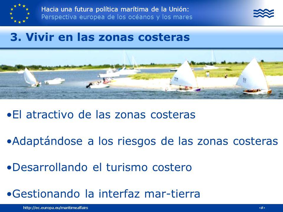 3. Vivir en las zonas costeras