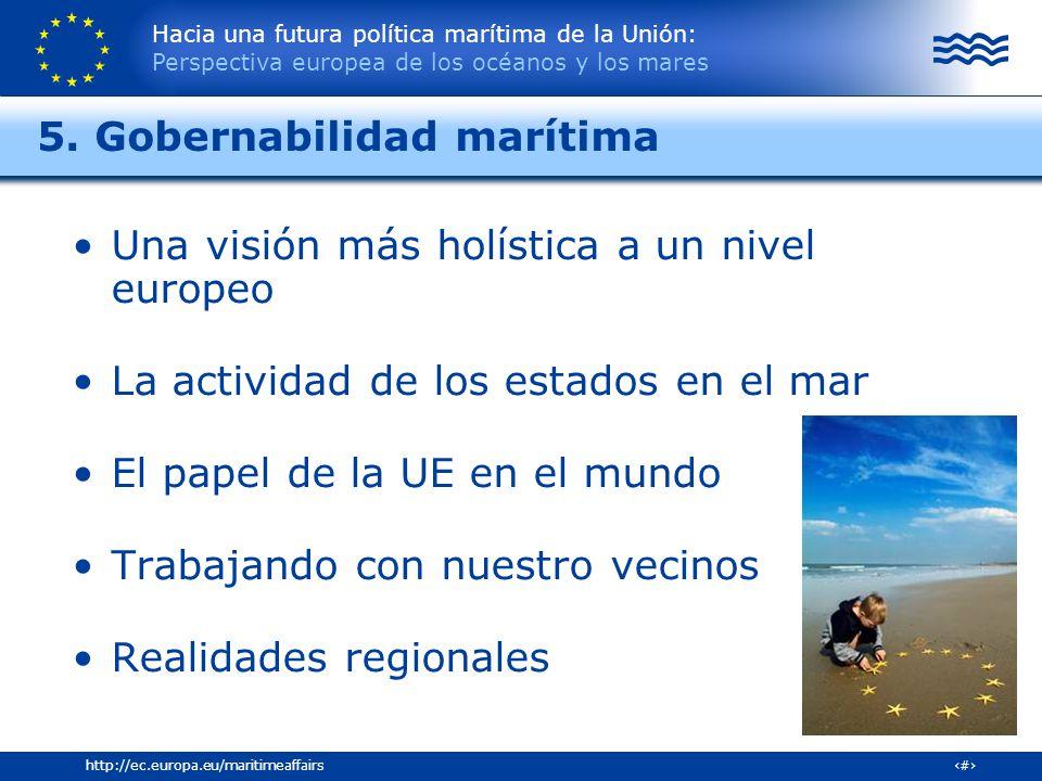 5. Gobernabilidad marítima