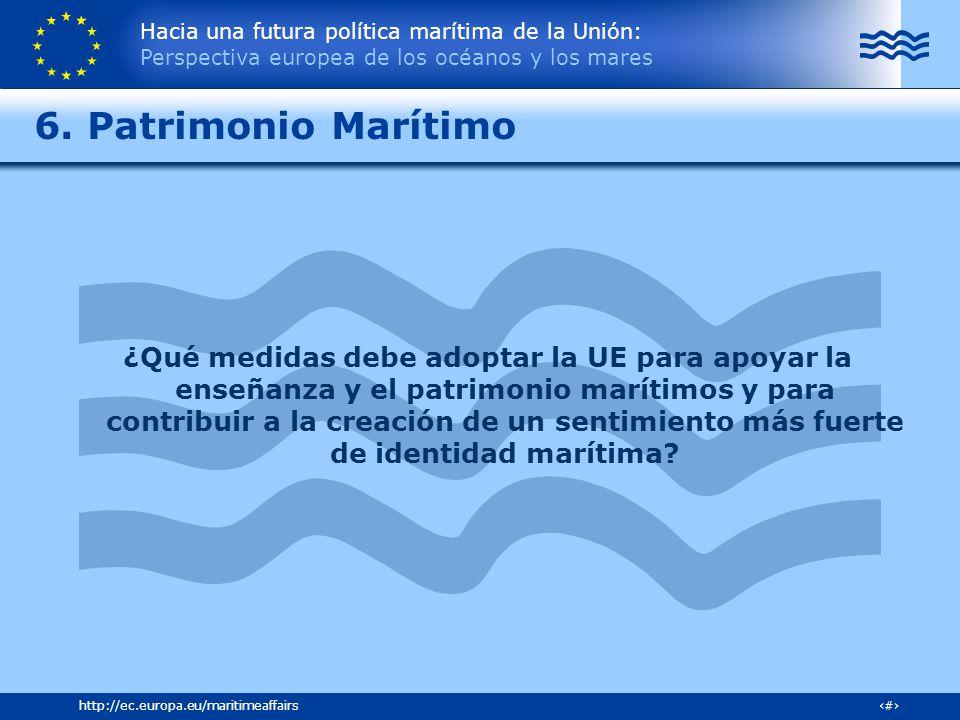 6. Patrimonio Marítimo