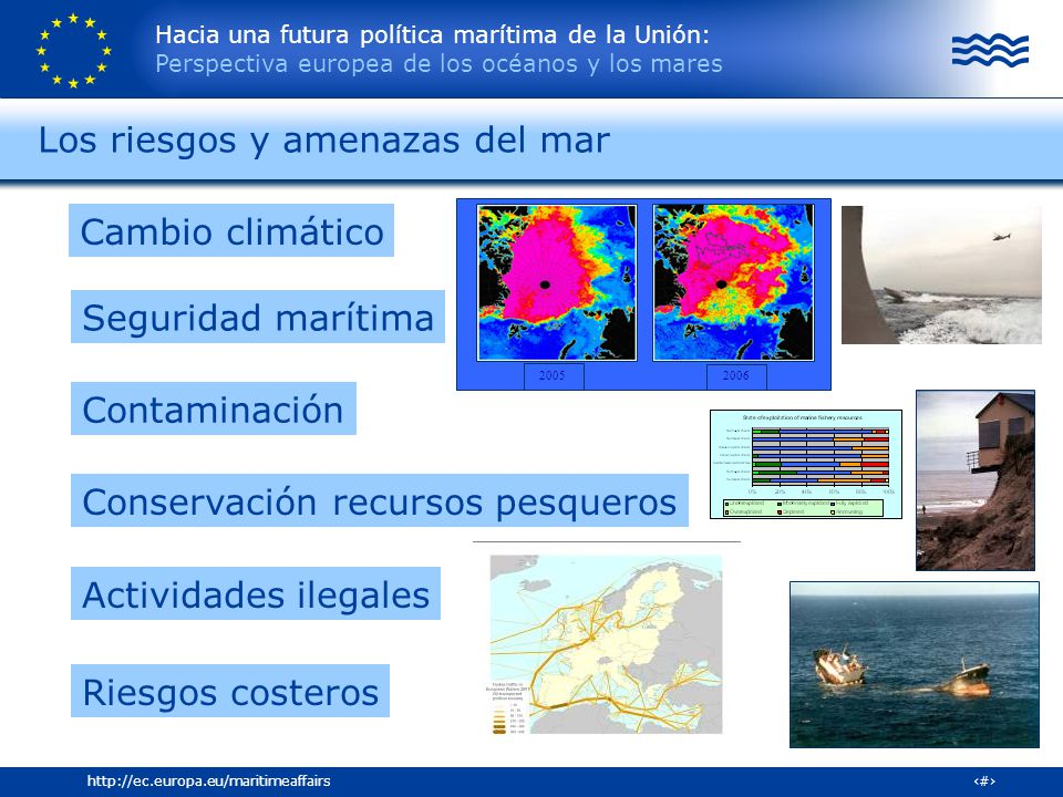 Los riesgos y amenazas del mar