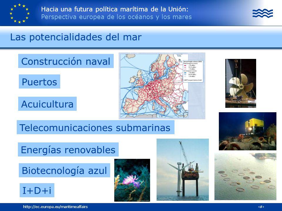 Las potencialidades del mar