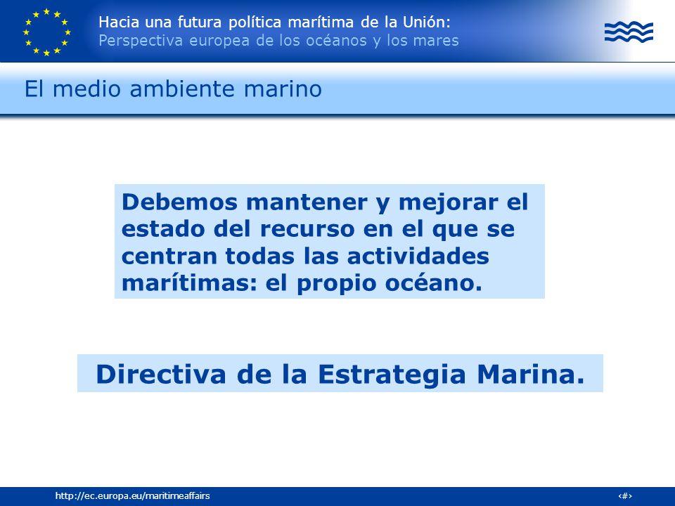 El medio ambiente marino