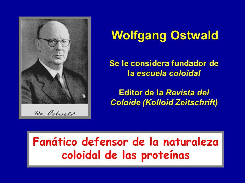 Wolfgang Ostwald Fanático defensor de la naturaleza
