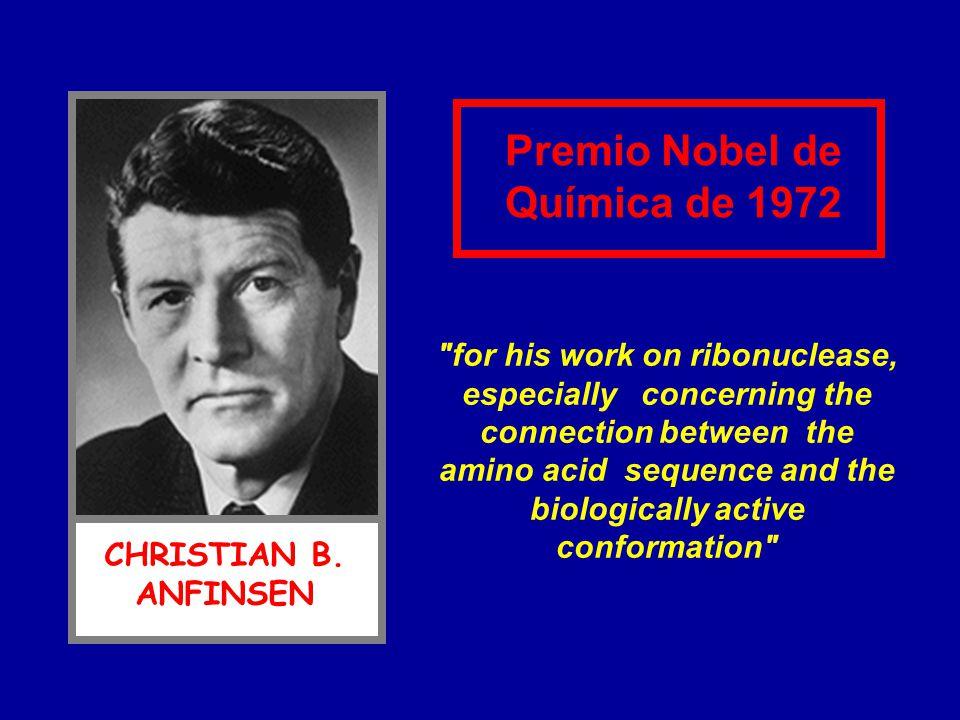 Premio Nobel de Química de 1972