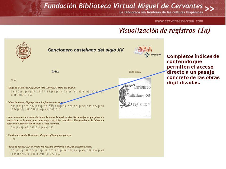 Visualización de registros (1a)