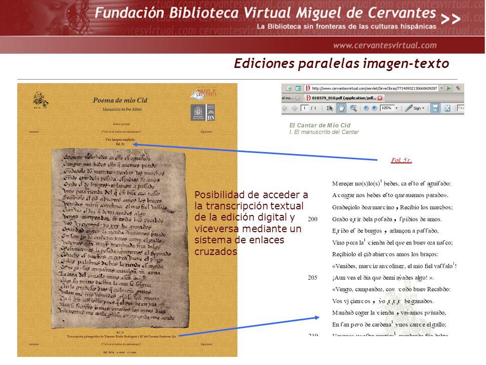 Ediciones paralelas imagen-texto