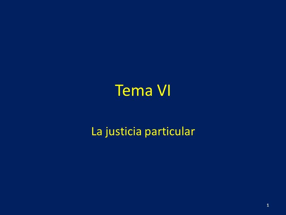 La justicia particular