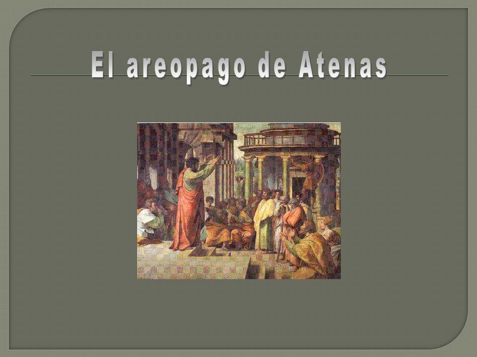 El areopago de Atenas
