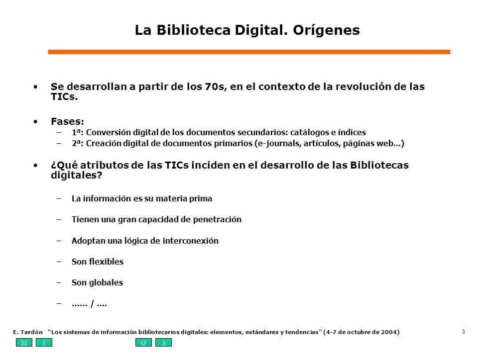 La Biblioteca Digital. Orígenes