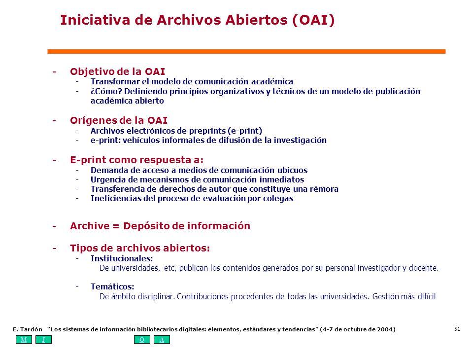 Iniciativa de Archivos Abiertos (OAI)