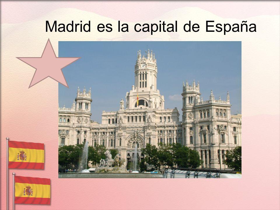 Madrid es la capital de España
