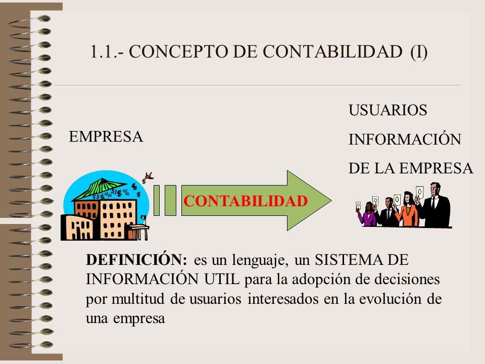 1.1.- CONCEPTO DE CONTABILIDAD (I)