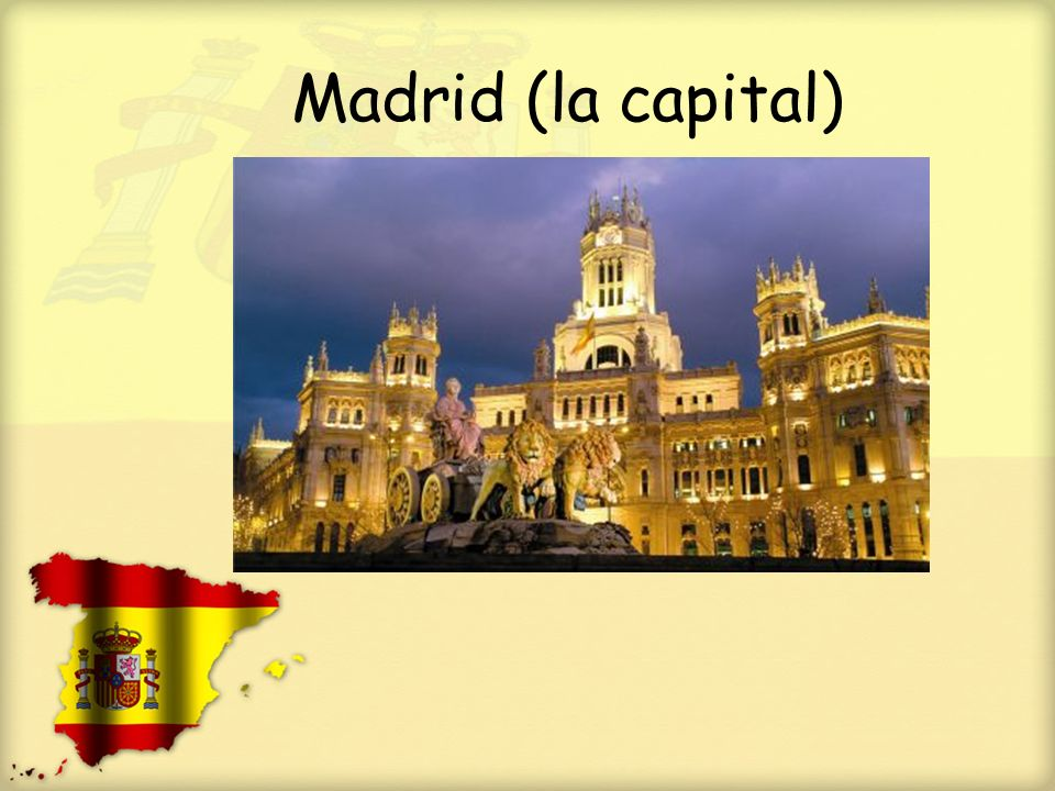 Madrid (la capital)