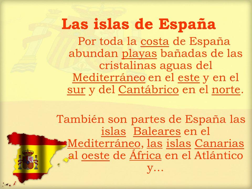 Las islas de España
