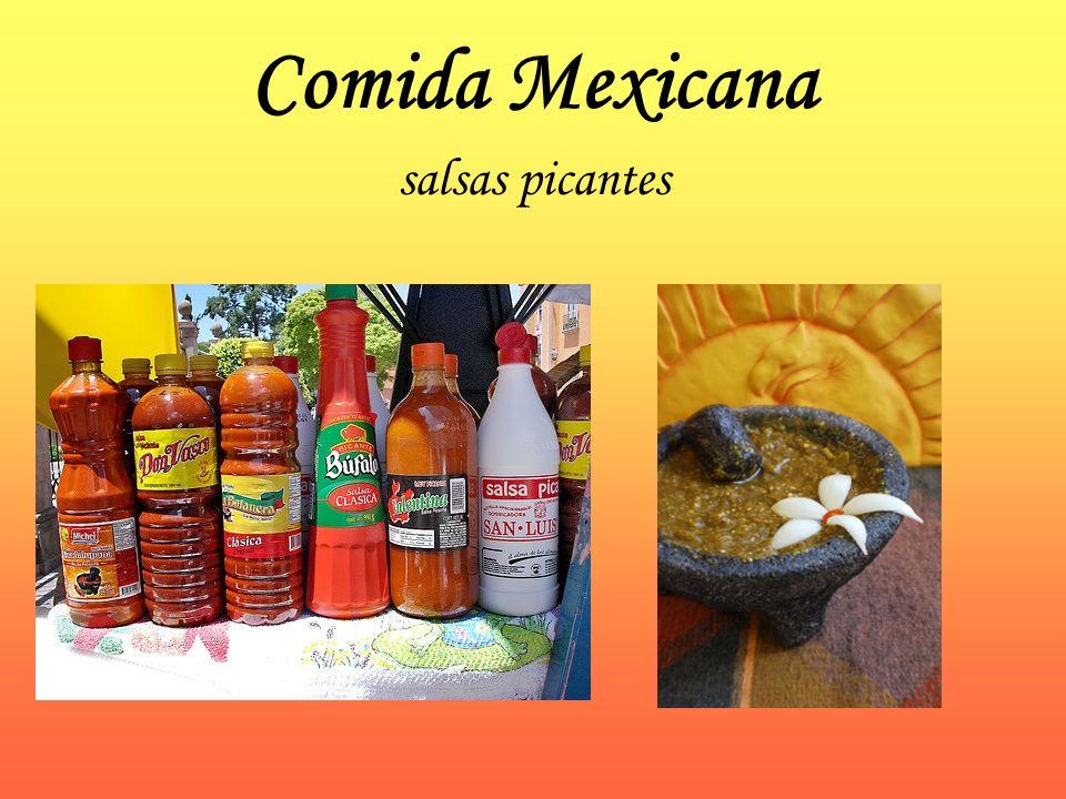 Comida Mexicana salsas picantes