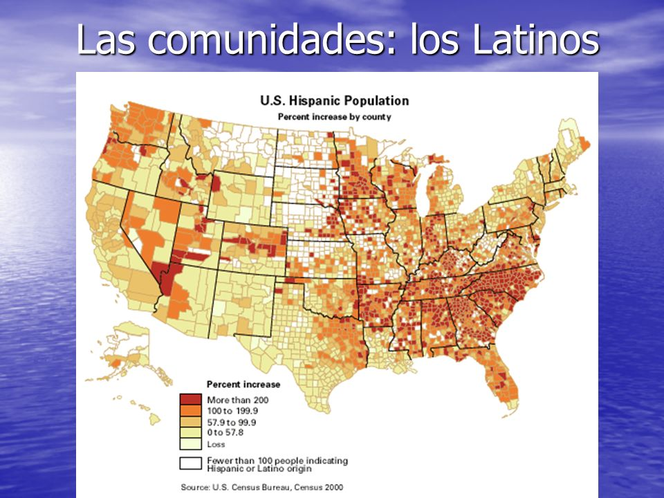 Las comunidades: los Latinos