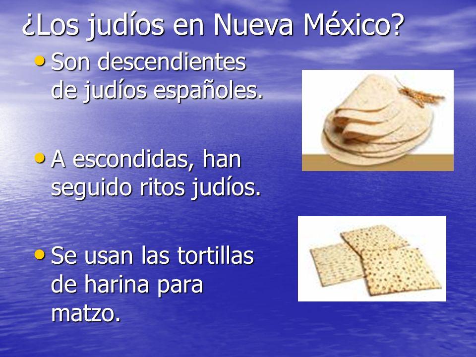 ¿Los judíos en Nueva México