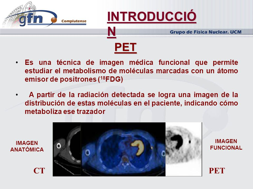 INTRODUCCIÓN PET CT PET