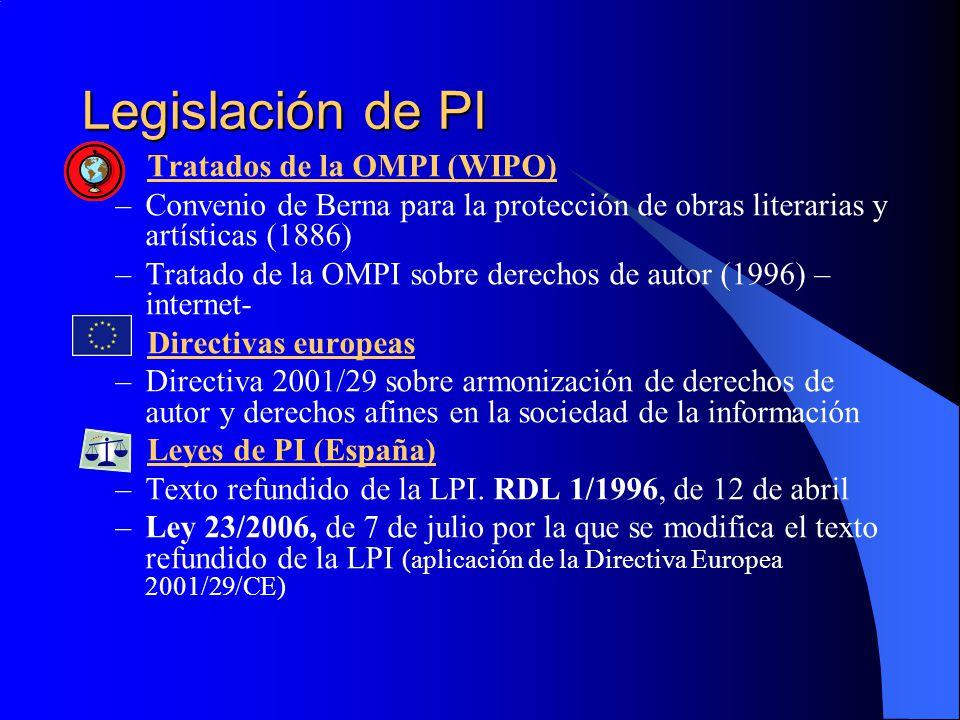 Legislación de PI Tratados de la OMPI (WIPO)
