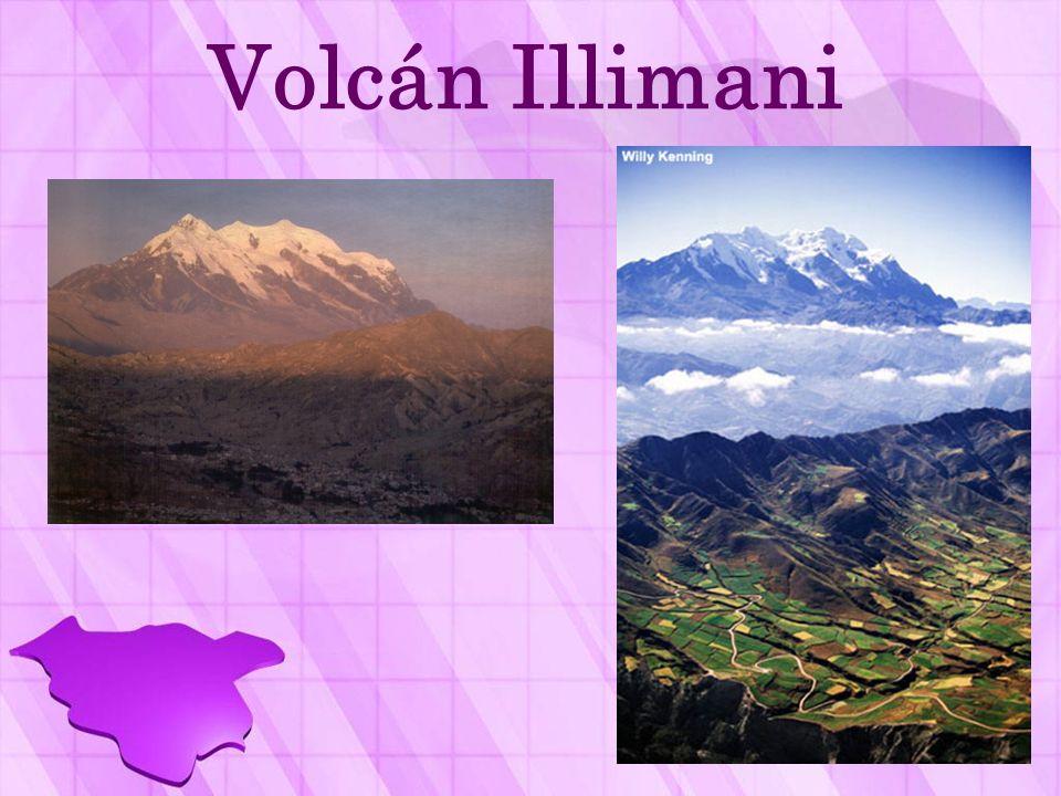 Volcán Illimani
