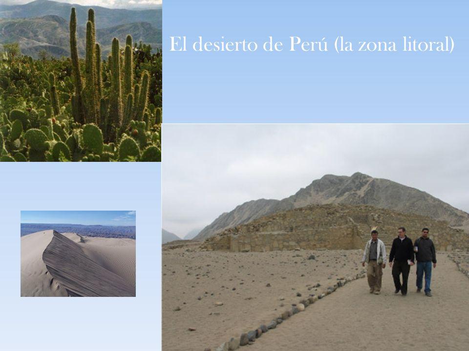 El desierto de Perú (la zona litoral)
