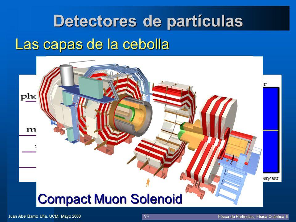 Detectores de partículas