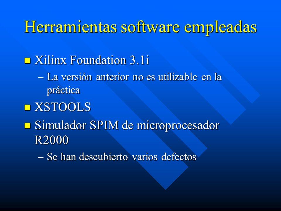 Herramientas software empleadas