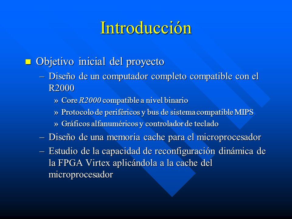 Introducción Objetivo inicial del proyecto