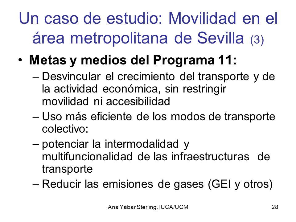 Un caso de estudio: Movilidad en el área metropolitana de Sevilla (3)
