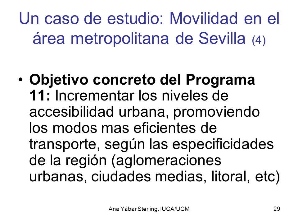 Un caso de estudio: Movilidad en el área metropolitana de Sevilla (4)