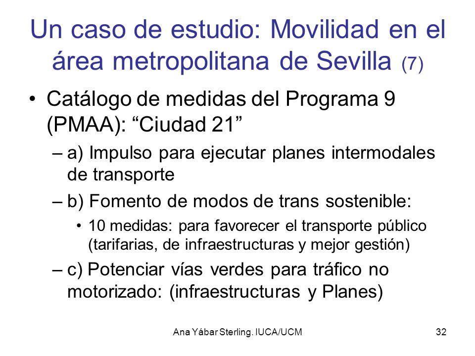 Un caso de estudio: Movilidad en el área metropolitana de Sevilla (7)