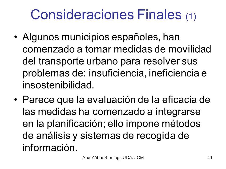 Consideraciones Finales (1)