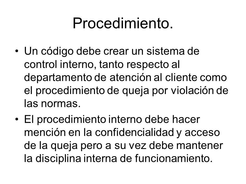 Procedimiento.