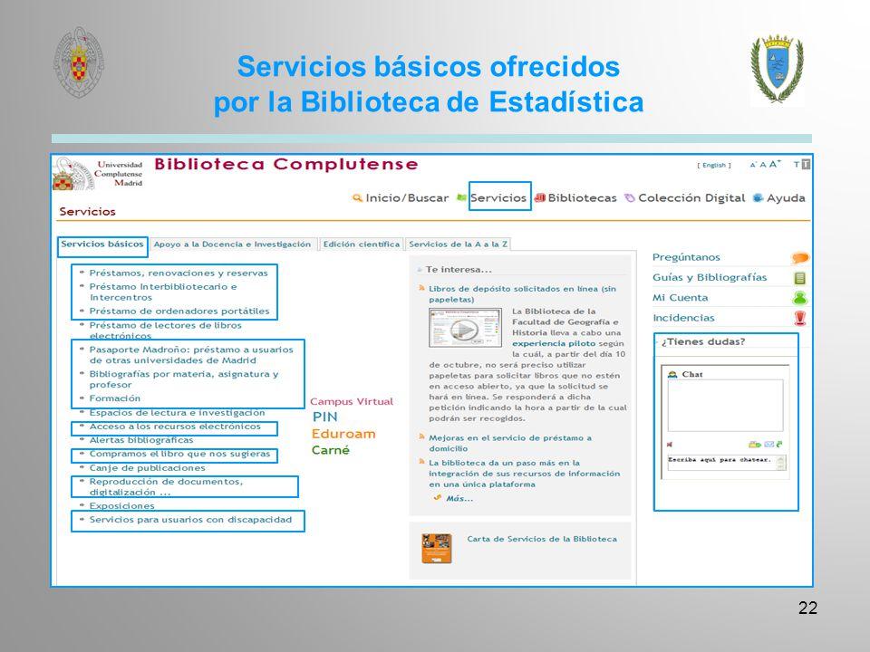 Servicio de Préstamo – número de recursos por usuario